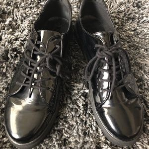 Forever 21 Patent Leather Sneakers